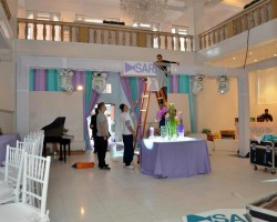 Mitzvah set-up!